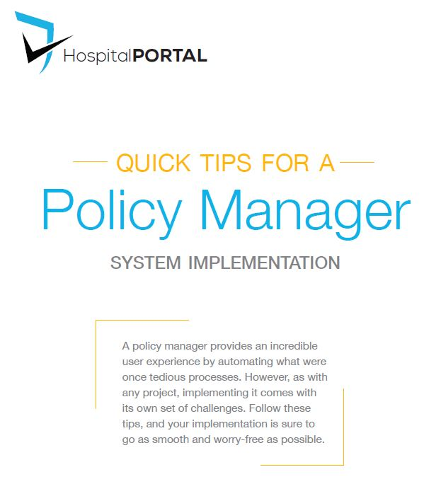 quick tips for a P&P implementation