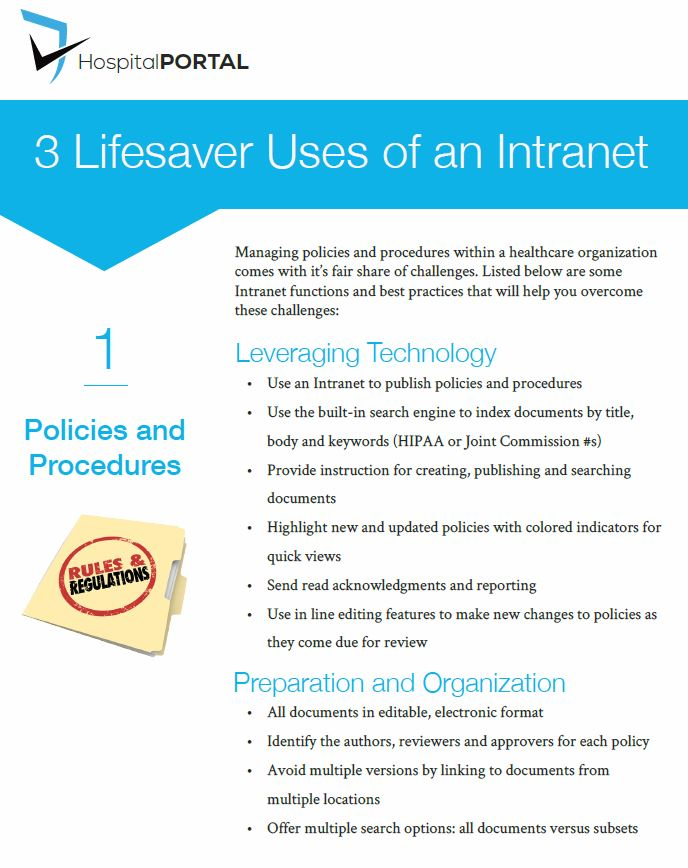 3 Lifesavers Uses of an Intranet Cover