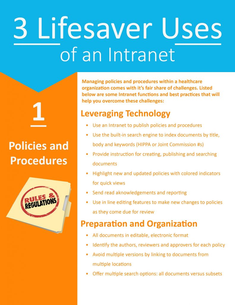 3 Lifesaver Uses of an Intranet