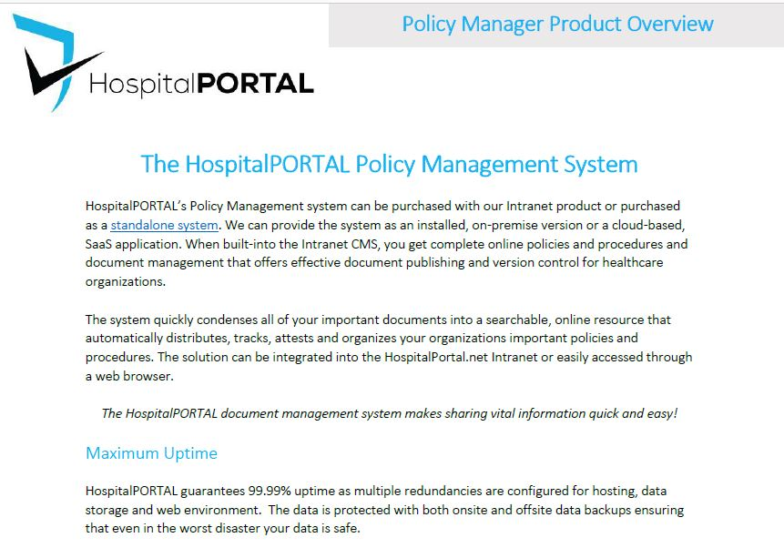 PolicyManagerOverview