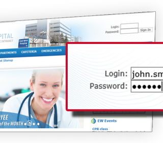 Best Practices for Authenticating users for Hospital Intranet access
