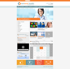 intranet home page design