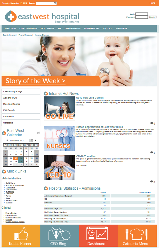 Tips To Create An Engaging Hospital Intranet